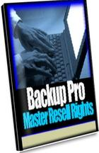 Backup Pro With Master Resale Rights | Software | Business | Other