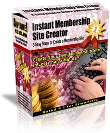 Instant Membership Site Creator Latest version 3.2 With MRR | Software | Business | Other