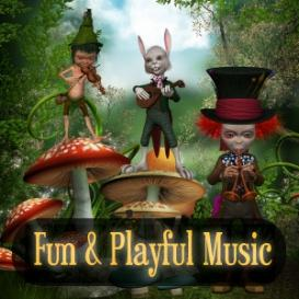 Fun and Playful Snippet - 3s Clarinet Xylophone No Cymbal, License A - Personal Use   Music   Children