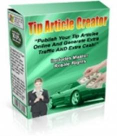 Tip Article Creator  With MRR | Software | Internet