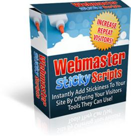 Webmaster Sticky Scripts  With MRR | Software | Developer