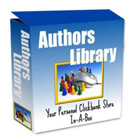 Instant Authors Library ! Open Your own Click Bank Store With In Mintu | Software | Internet