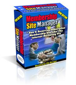 Membership Site Manager With Master Resale Rights | Software | Developer