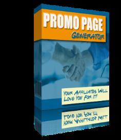 Promo Page Generator With MRR | Software | Internet