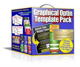 graphical optin template pack with resale rights