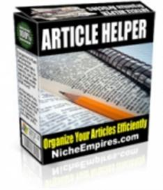 Article Helper Software | Software | Internet