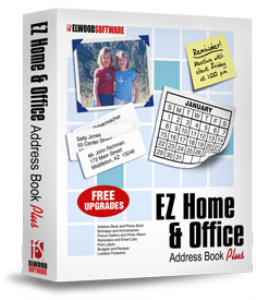 ez address book software for home and office
