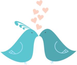 lovr birds kissing
