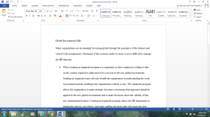 Global Environment DQ   Documents and Forms   Research Papers