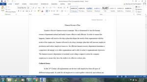 Human Resource Planning   Documents and Forms   Research Papers