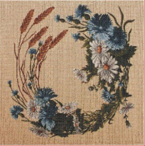 Polní kvítí (The wildflowers) | Crafting | Cross-Stitch | Other