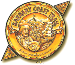 barbary coast trail audio tour: all three parts plus pocket guide