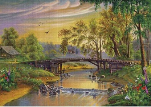 Mustek (The bridge) | Crafting | Cross-Stitch | Other