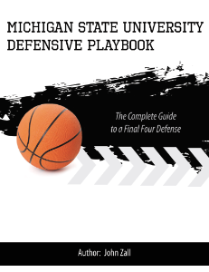 Michigan State University Defensive Playbook | eBooks | Sports