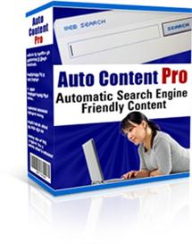 Auto Content Pro  (RR) | Software | Internet