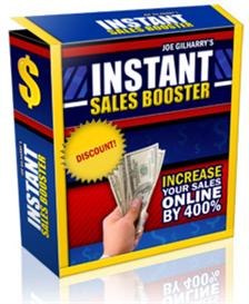 Instant Sales Booster With Resale Rights | Software | Business | Other