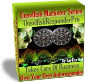 Our AutoResponder: UnselfishResponderPro With Resale Rights | eBooks | Internet