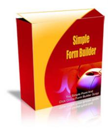 Simple Form Builder WIth Resale Rights | Software | Utilities