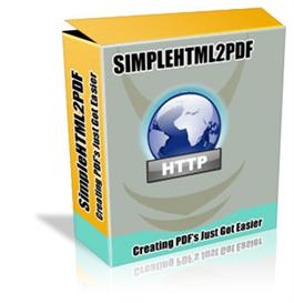 SIMPLE HTML 2 PDF With Resale Rights | Software | Home and Desktop