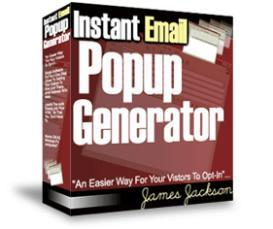 Instant Email Popup Generator With Resale Rights | Software | Developer