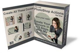 The Lost PhotoShop Actions - Create Images With 2 Easy Steps (MRR) | Software | Design