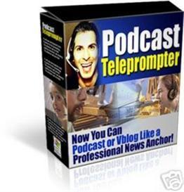 podcast teleprompter (mrr)
