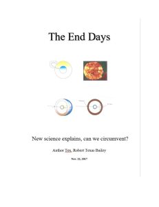 The End Days. New science explains, can we circumvent? | eBooks | Science