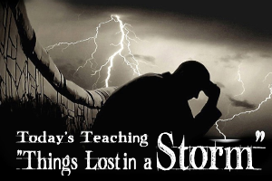 Things Lost In A Storm | Audio Books | Religion and Spirituality
