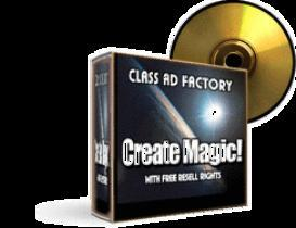 class ads factory with resale rights