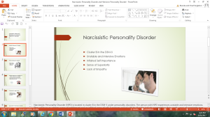 Narcissistic Personality Disorder and Histrionic Personality Disorder PowerPoint | Documents and Forms | Other Forms