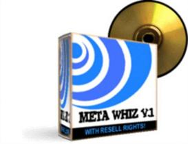 Meta Whiz V.1 With Resale Rights | Software | Internet