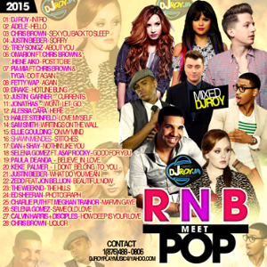 dj roy rnb meets pop music mix 2015