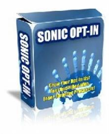 Sonic OptIn (RR) | Software | Design