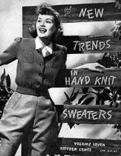 Trends in Hand Knit Sweaters - Adobe .pdf Format | eBooks | Arts and Crafts