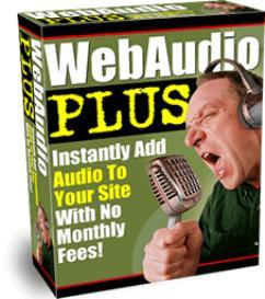 web audio plus add streaming audio to your website (mrr)