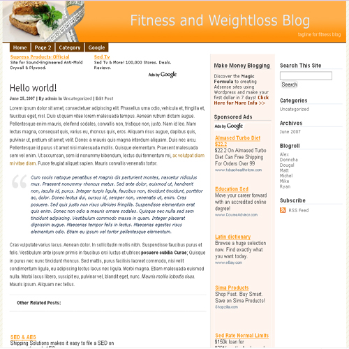 Third Additional product image for - Instant Wordpress Themes With Resale Rights