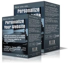 Personalizing Your Website  (MRR) | Software | Internet