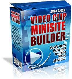 Video Clip Minisite Builder (Private Labels Rights) | Software | Audio and Video