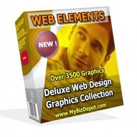 Web Elements Web Graphics Gallery 2 With (MRR) | Other Files | Patterns and Templates