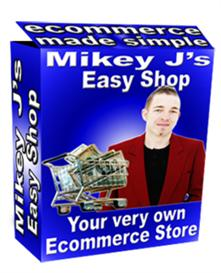 easy shop script ! your very own ecommerce store (resale rights includ