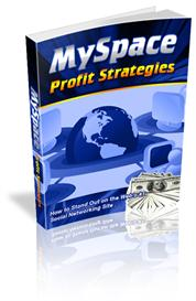 myspace profit strategies with master resale rights