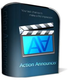 Action Announcer with Private Label Rights | Software | Developer