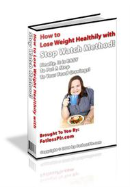 *NEW* How to Lose Weight Healthily with Stop Watch Method (MRR Include | eBooks | Health