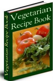vegetarian recipe book (mrr)