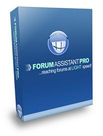forum assistant pro - submit to forums at light speed (mrr)