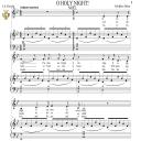 O Holy Night (Noël), Medium Voice in B-Flat Major (Mezzo/Alto). English Modern Version. A. Adam, J.S. Dwight. Digital score. A5 (landscape).Tablet Sheet Music Download.   eBooks   Sheet Music