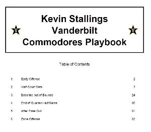 Kevin Stallings Vanderbilt Commodores Playbook | eBooks | Sports