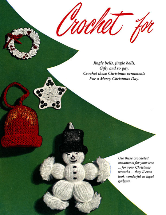 Second Additional product image for - Crochet for Christmas | Star Book 83 | American Thread Company DIGITALLY RESTORED PDF
