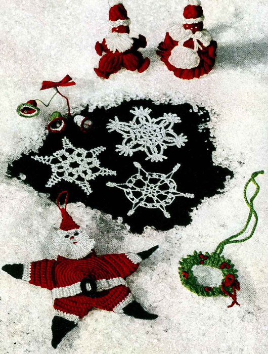 Third Additional product image for - Crochet for Christmas   Star Book 94   American Thread Company DIGITALLY RESTORED PDF