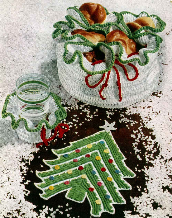 Fourth Additional product image for - Crochet for Christmas   Star Book 94   American Thread Company DIGITALLY RESTORED PDF